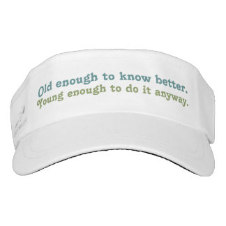 """Old & Young"" visor"
