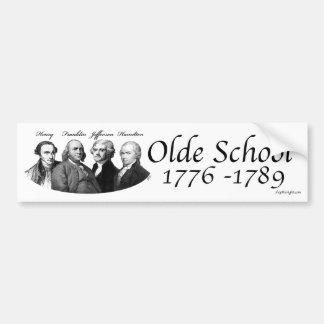 Olde School Bumper Sticker
