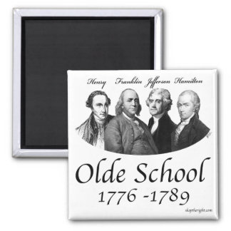 Olde School Magnet