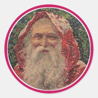 Olde St. Nicholas Classic Round Sticker