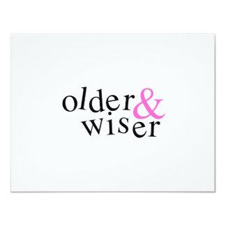 Older and Wiser Custom Invite