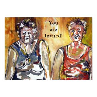 Older Bolder Ladies Invitation
