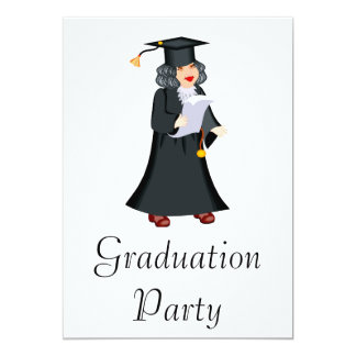 Older Graduate Custom Announcement