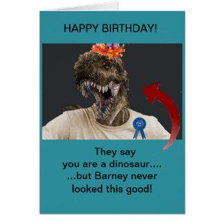 Older Men Birthday Greeting Card