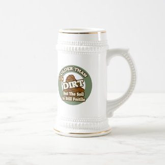 Older Than Dirt 30th Birthday Gifts Beer Stein
