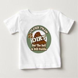 Older Than Dirt 55th Birthday Gifts T-shirt