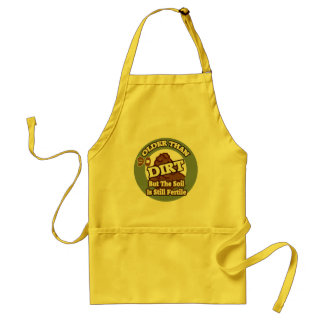 Older Than Dirt 90th Birthday Gifts Adult Apron