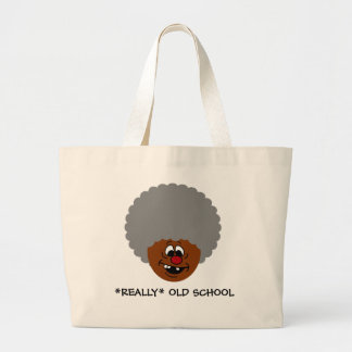 Older than dirt and proud of it senior citizen jumbo tote bag
