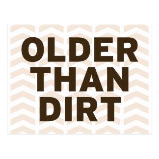 Older than Dirt Postcard