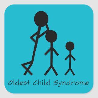 Oldest child syndrome funny stickers