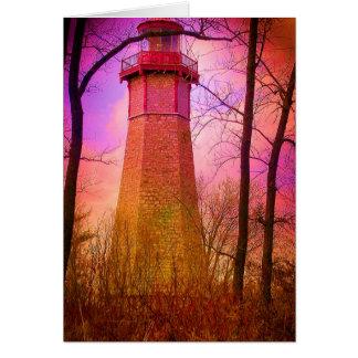 Oldest Light House Toronto Island V2 Card