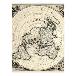Oldest map postcard