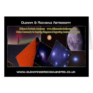Oldham & Rochdale Astro Card! Card