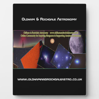 Oldham & Rochdale Astro Plaque