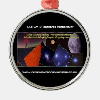 Oldham & Rochdale Astro Premium Round Ornament