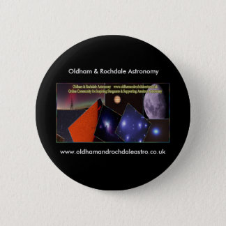 Oldham & Rochdale Astro round badge