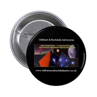 Oldham & Rochdale Astro round badge