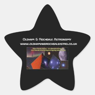 Oldham & Rochdale Astro Star Stickers