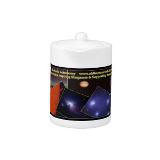Oldham & Rochdale Astro Teapot