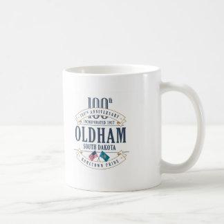 Oldham, South Dakota 100th Anniversary Mug