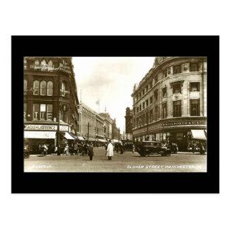 Oldham Street, Manchester, 1937 Postcards