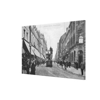 Oldham Street, Manchester, c.1910 Canvas Print