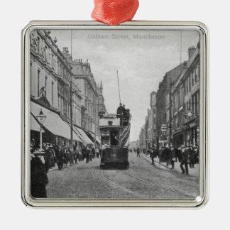 Oldham Street, Manchester, c.1910 Christmas Ornament