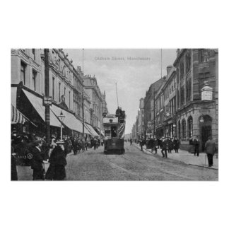 Oldham Street, Manchester, c.1910 Poster