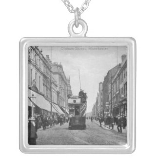 Oldham Street, Manchester, c.1910 Silver Plated Necklace