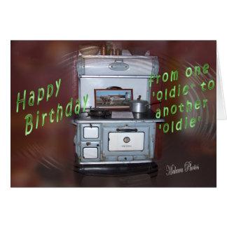 Oldie Birthday Card