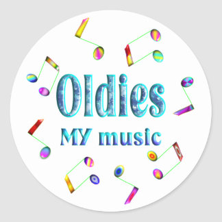Oldies Music Stickers