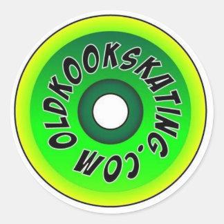 oldkook wheel sticker