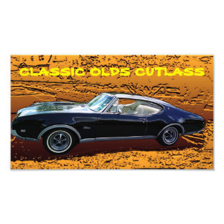 Olds Cutlass Art Photo