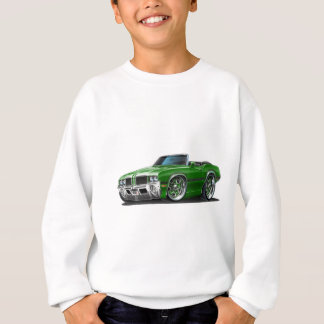 Olds Cutlass Green Convertible Sweatshirt