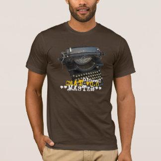 Oldskool Chat v0.0 Master Antique Typewriter T-Shirt