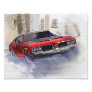 Oldsmobile 442 photo print