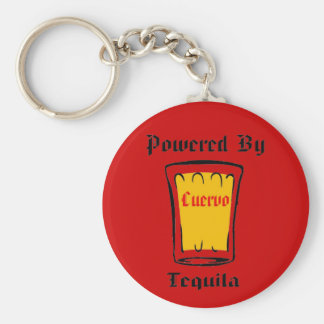 OLE' BASIC ROUND BUTTON KEY RING