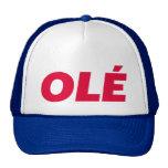 OLE fun slogan trucker hat