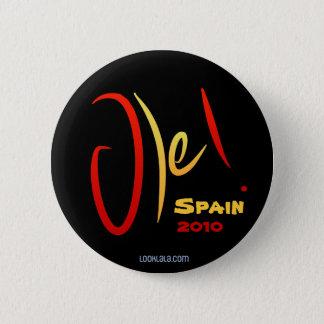 Ole, Spain, 2010 6 Cm Round Badge