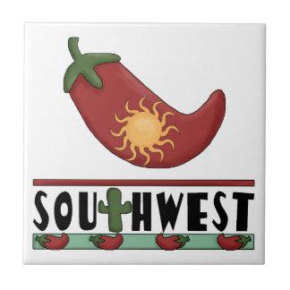 Ole Sun Stuffed Red Chili Pepper - Chile Relleno Tile