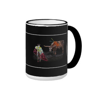 OLE TORO! El Matador Ringer Mug