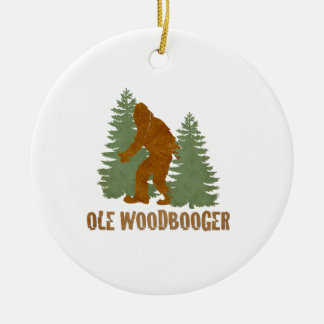 OLE WOODBOOGER CHRISTMAS ORNAMENTS