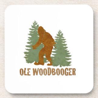 OLE WOODBOOGER COASTERS