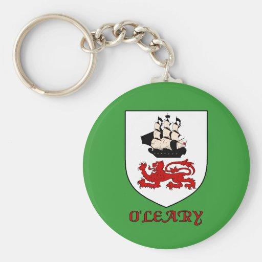 O'Leary Family Shield Keychain