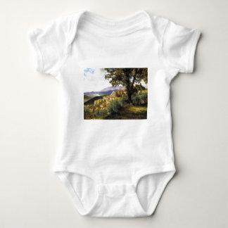 Olevano by Albert Bierstadt Baby Bodysuit