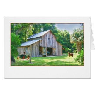Olf Farm Barn All-purpose card