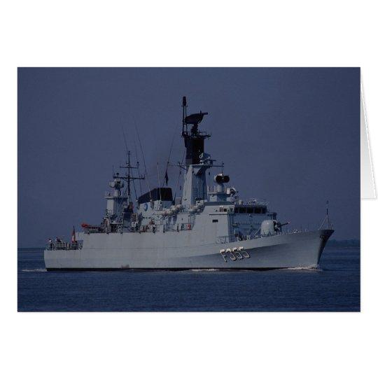 "Olfert Fischer"" F3555 frigate, Danish Navy Card"