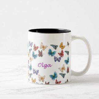 Olga Two-Tone Coffee Mug