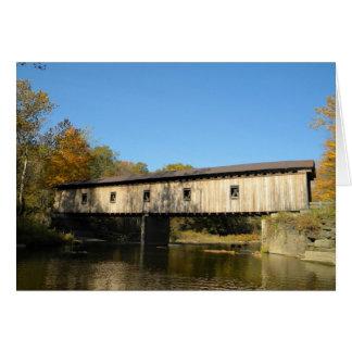 Olin Bridge Ashtabula County Ohio Card