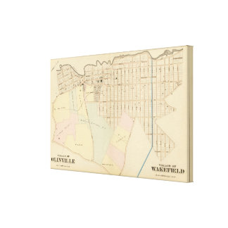 Olinville, Wakefield, New York Canvas Print